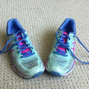 ASICS Gel Kayano girls running shoe